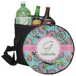 Summer Flowers Collapsible Cooler & Seat (Personalized)