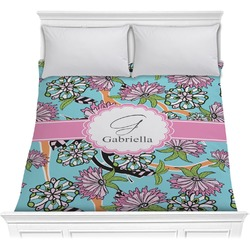 Summer Flowers Comforter (Personalized)
