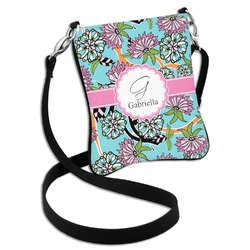 Summer Flowers Cross Body Bag - 2 Sizes (Personalized)