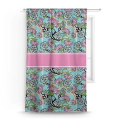Summer Flowers Curtain (Personalized)