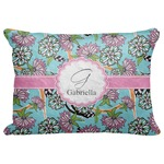 """Summer Flowers Decorative Baby Pillowcase - 16""""x12"""" (Personalized)"""