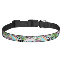 Summer Flowers Dog Collar (Personalized)