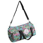 Summer Flowers Duffel Bag (Personalized)