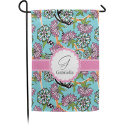 Summer Flowers Garden Flag - Single or Double Sided (Personalized)