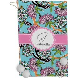 Summer Flowers Golf Towel - Full Print (Personalized)