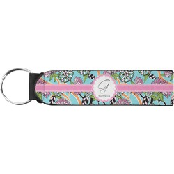 Summer Flowers Keychain Fob (Personalized)