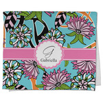 Summer Flowers Kitchen Towel - Full Print (Personalized)