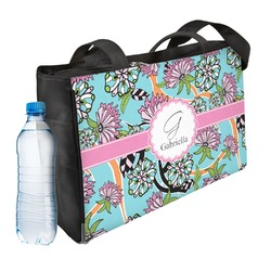Summer Flowers Ladies Workout Bag (Personalized)