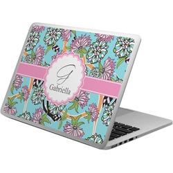 Summer Flowers Laptop Skin - Custom Sized (Personalized)