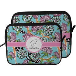 Summer Flowers Laptop Sleeve / Case (Personalized)