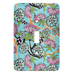 Summer Flowers Light Switch Covers (Personalized)
