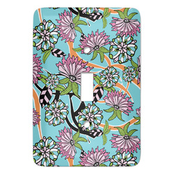 Summer Flowers Light Switch Covers - Multiple Toggle Options Available (Personalized)