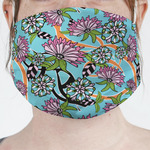 Summer Flowers Face Mask Cover (Personalized)