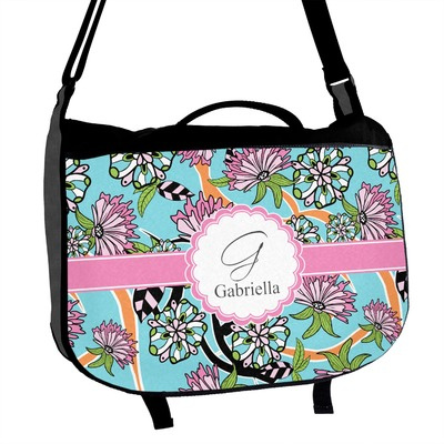 Summer Flowers Messenger Bag (Personalized)