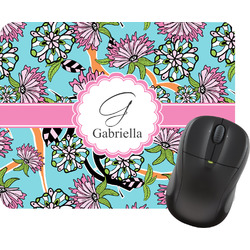 Summer Flowers Mouse Pad (Personalized)