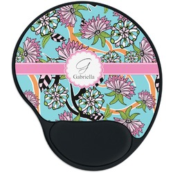 Summer Flowers Mouse Pad with Wrist Support