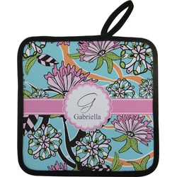 Summer Flowers Pot Holder (Personalized)