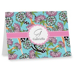 Summer Flowers Notecards (Personalized)