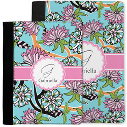 Summer Flowers Notebook Padfolio w/ Name and Initial