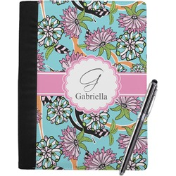 Summer Flowers Notebook Padfolio (Personalized)