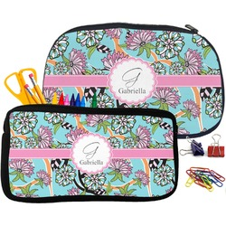 Summer Flowers Pencil / School Supplies Bag (Personalized)