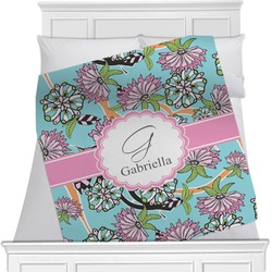 Summer Flowers Blanket (Personalized)