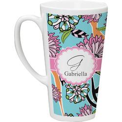 Summer Flowers Latte Mug (Personalized)