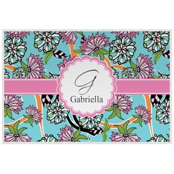 Summer Flowers Placemat (Laminated) (Personalized)