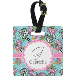 Summer Flowers Luggage Tags (Personalized)