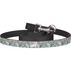 Summer Flowers Pet / Dog Leash (Personalized)