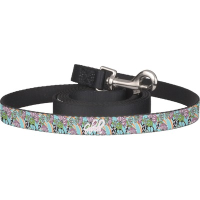 Summer Flowers Dog Leash (Personalized)