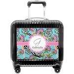 Summer Flowers Pilot / Flight Suitcase (Personalized)
