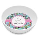 Summer Flowers Melamine Bowl 8oz (Personalized)