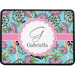 Summer Flowers Rectangular Trailer Hitch Cover (Personalized)