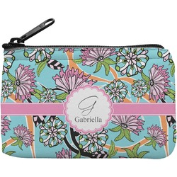 Summer Flowers Rectangular Coin Purse (Personalized)
