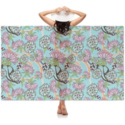 Summer Flowers Sheer Sarong (Personalized)