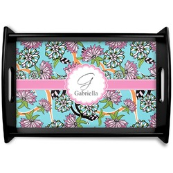 Summer Flowers Wooden Trays (Personalized)