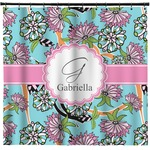 Summer Flowers Shower Curtain (Personalized)