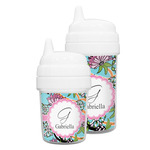 Summer Flowers Sippy Cup (Personalized)