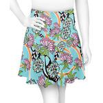 Summer Flowers Skater Skirt (Personalized)