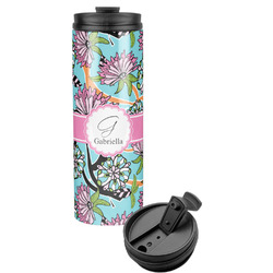 Summer Flowers Stainless Steel Tumbler (Personalized)