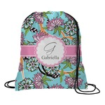 Summer Flowers Drawstring Backpack (Personalized)