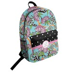 Summer Flowers Student Backpack (Personalized)