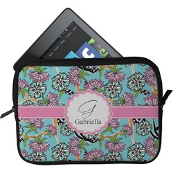Summer Flowers Tablet Case / Sleeve (Personalized)