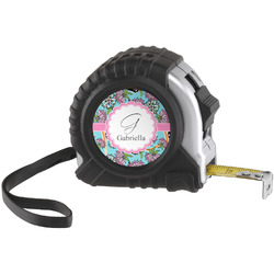 Summer Flowers Tape Measure (25 ft) (Personalized)