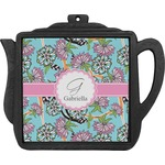 Summer Flowers Teapot Trivet (Personalized)