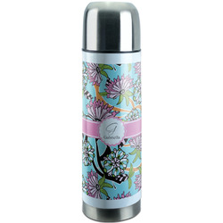 Summer Flowers Stainless Steel Thermos (Personalized)