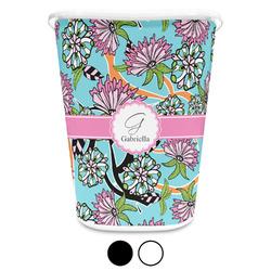 Summer Flowers Waste Basket (Personalized)