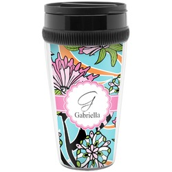 Summer Flowers Travel Mugs (Personalized)