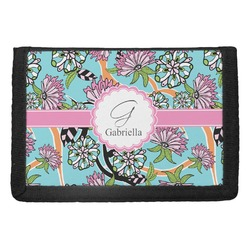 Summer Flowers Trifold Wallet (Personalized)